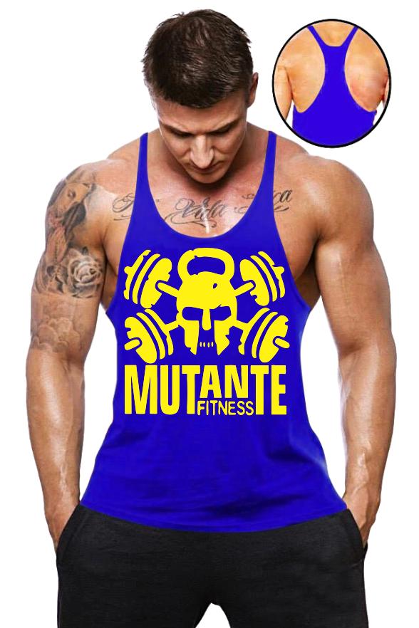 Camiseta Regata Super Cavada Mutante Fitness - Loja Mutante Fitness 1946f6facb1