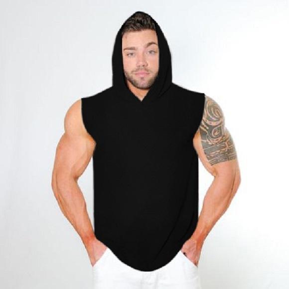 d2759828e3813 Kit 5 Camisa Regata Machão Masculina Com Capuz - Loja Mutante Fitness