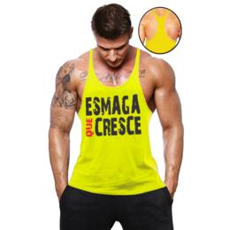 18b49947c4aa5 Regata Super Cavada Masculina Cavada Esmaga Que Cresce - Loja Mutante  Fitness