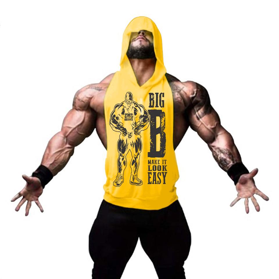 6a51b5e57dc85 Regata Cavada com Capuz Big Mutante Fitness - Loja Mutante Fitness