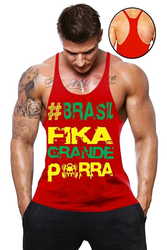 Camisa Regata Super Cavada Musculação masculina - Loja Mutante Fitness 046d9855f46