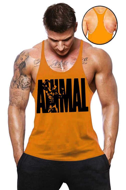 519597bb11c86 Camiseta Regata Cavada Masculina Academia Animal - Loja Mutante Fitness