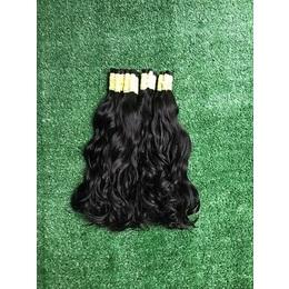 cabelo natural leve ondas castanho medio 40 cm 50 gramas