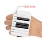 Suporte de cílios com escala  / eslastico