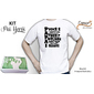 KIT Pai Herói 1 - Camiseta + Caixa personalizada