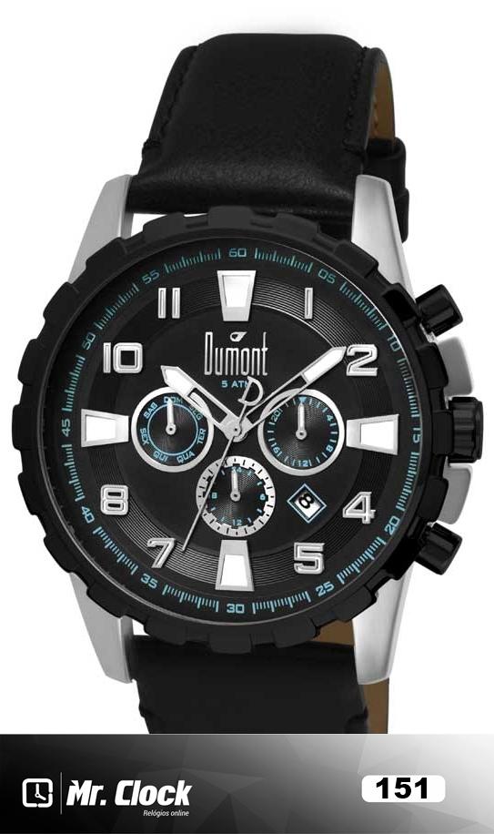 7853a0356b3 Relógio Dumont Traveller Masculino - Mr.Clock