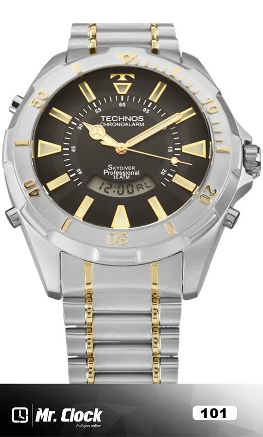 9cf1208bb2592 Relógio Technos Skydiver Masculino - Mr.Clock
