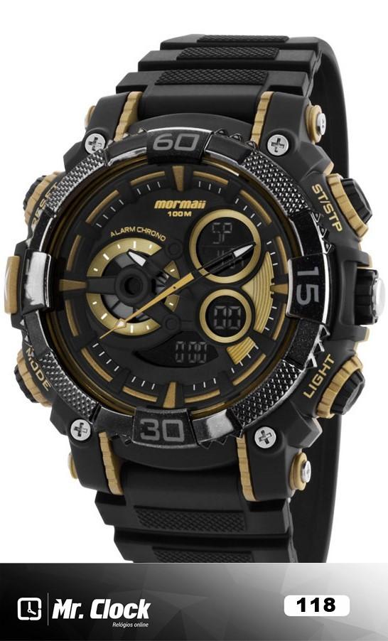 56cffe3e14a9f Relógio Mormaii Masculino - Mr.Clock