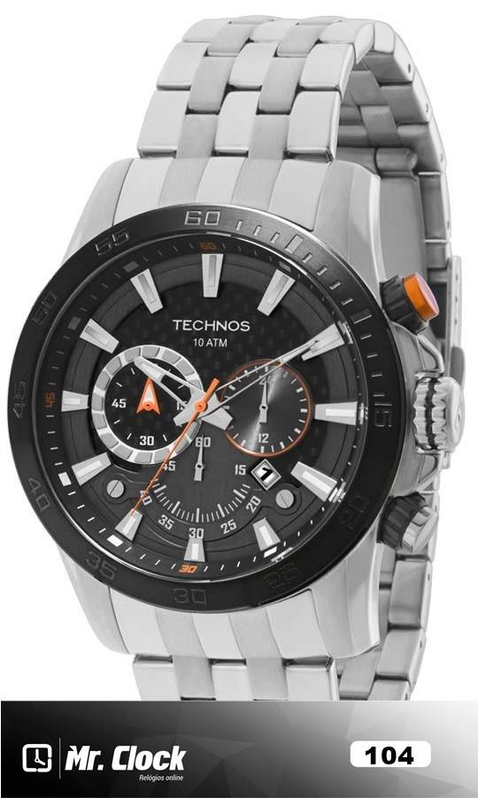 164d0b9a8c1 Relógio Technos Masculino TS Carbon Chronograph - Mr.Clock