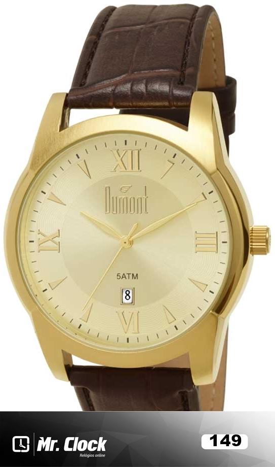 Relógio Dumont Masculino - Mr.Clock f813bc1a04
