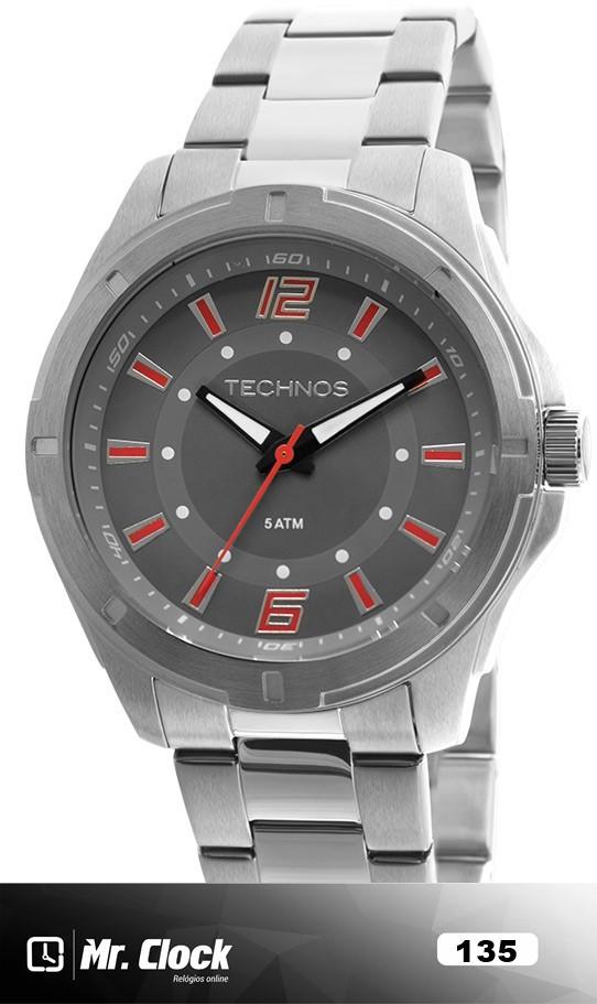 42d1383709c64 Relógio Technos Masculino Performance Racer - Mr.Clock