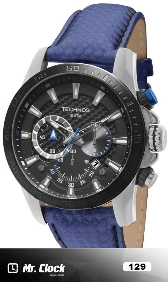 a05c44d4598fd Relógio Technos Masculino Performance Sports Carbon - Mr.Clock