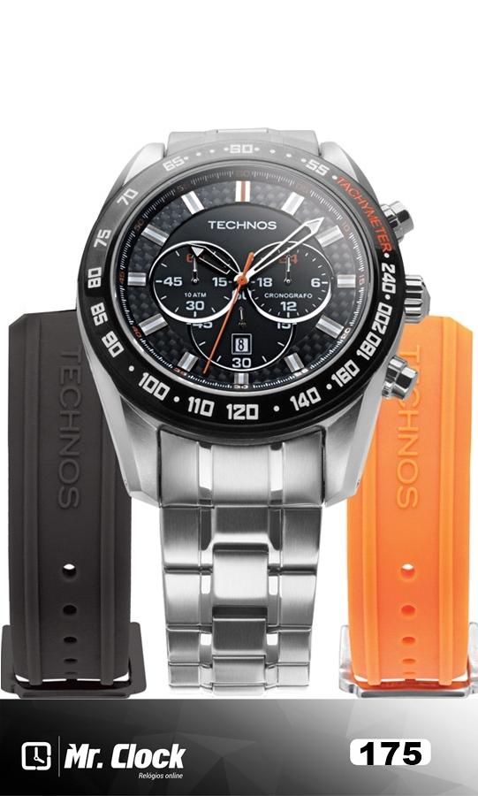 f8c725a4992 Relógio Technos Masculino Performance Sports (Troca Pulseira) - Mr.Clock