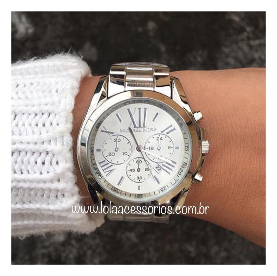 adc5fed605f15 Relógio MK Prata Romanos - Lola Acessórios - Loja de acessórios ...
