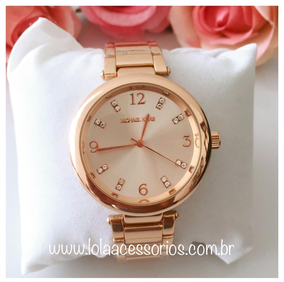 b73c91e957d26 Relógio MK Tradicional Rose IV - Lola Acessórios - Loja de ...