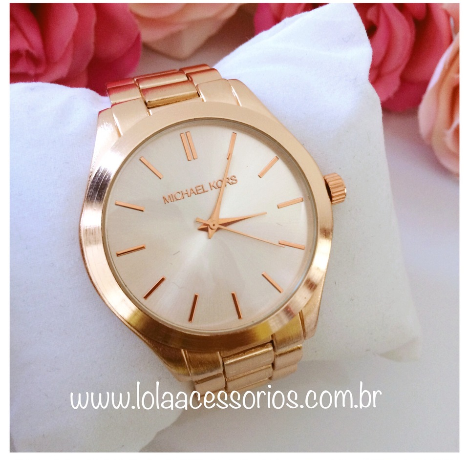49cfb85740f16 Relógio MK Rose - Lola Acessórios - Loja de acessórios Femininos