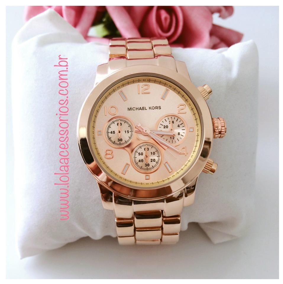 8e2bc0a0e7c Relógio Michael Kors Rose - Lola Acessórios - Loja de acessórios ...