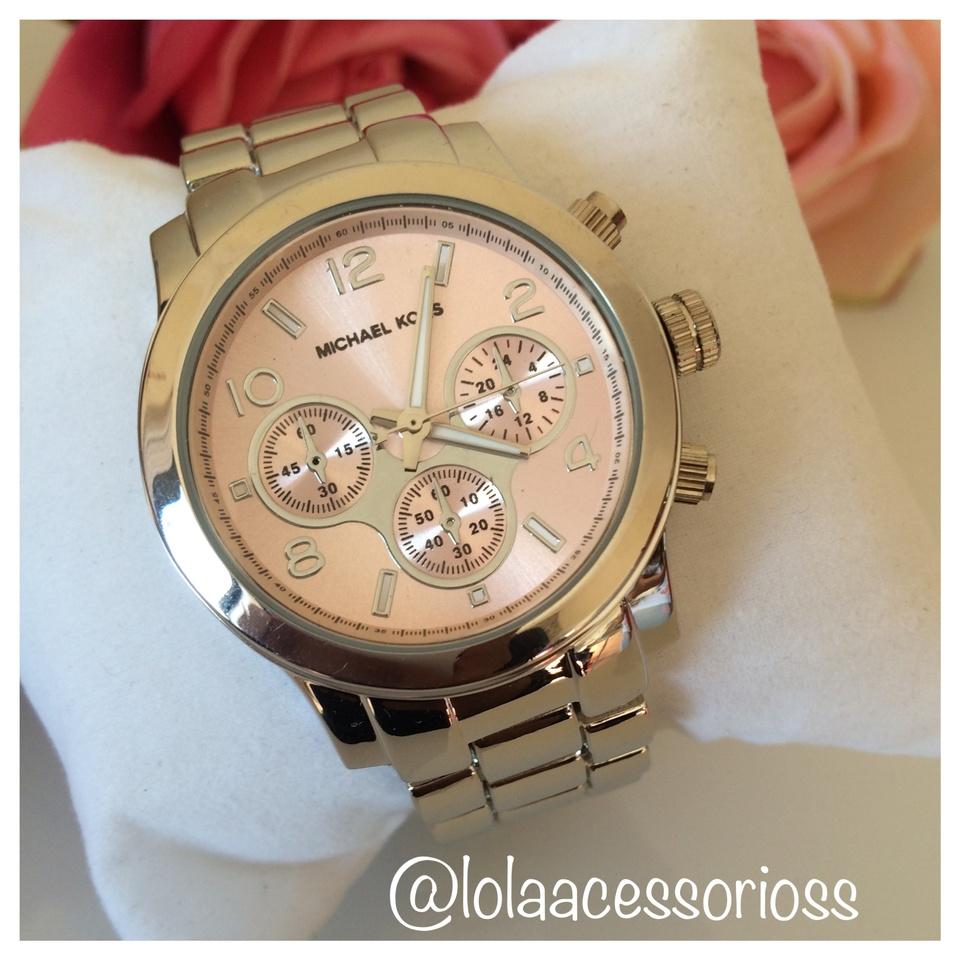 616394ef1d9 Relógio MK Prata - Rosa Bebê - Lola Acessórios - Loja de acessórios ...
