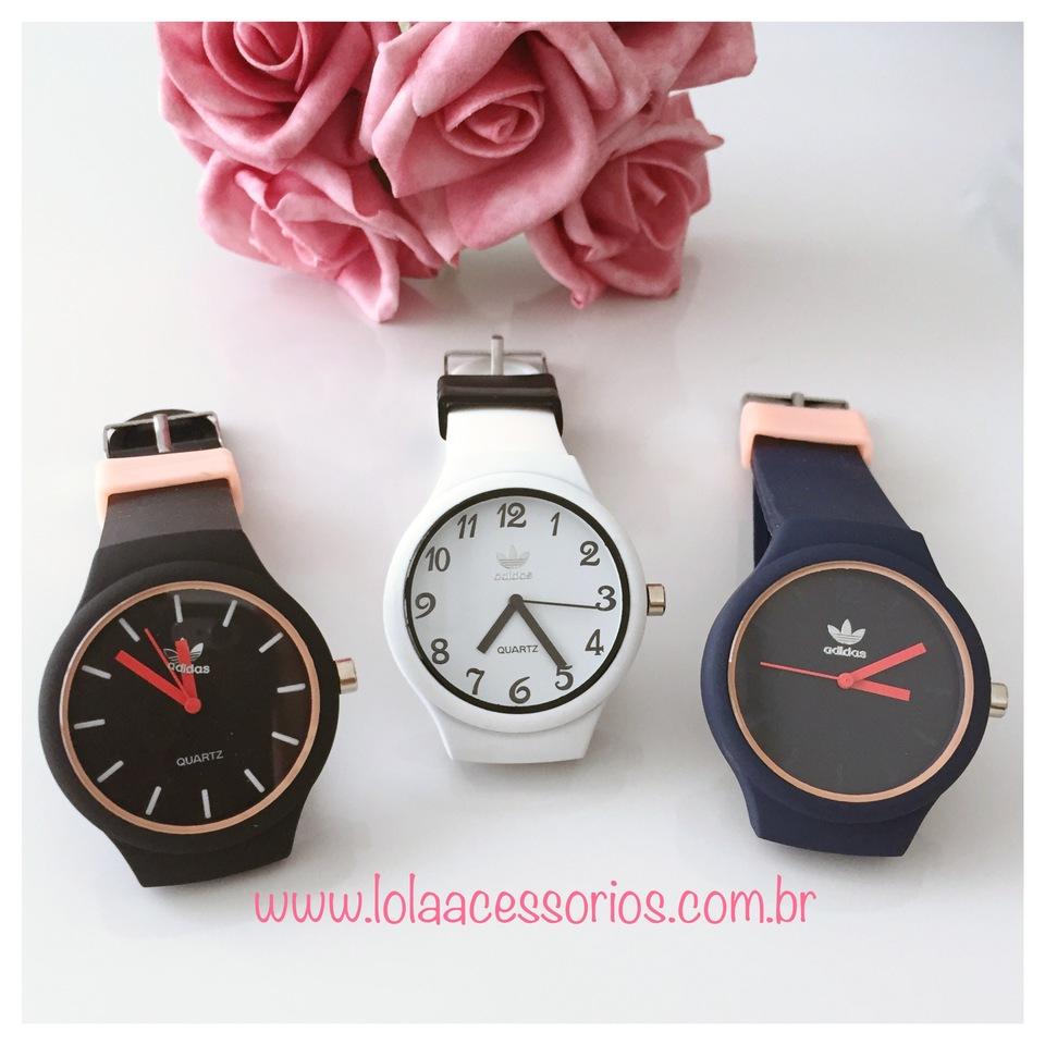 Relógio Adidas Inspired - Lola Acessórios - Loja de acessórios Femininos a9fb5e588a4