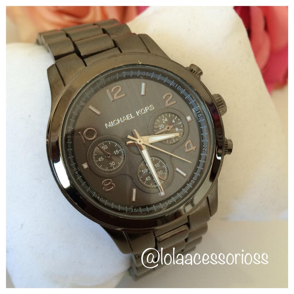 c6904efb52ca4 Relógio MK Chumbo - Lola Acessórios - Loja de acessórios Femininos