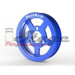 Polia Bomba D'água FuelTech Poli-V - Azul
