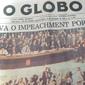 Jornal O GLOBO Collor Está Fora do Poder,  Rio de Janeiro, Quarta - Feira, 30 de Setembro de 1992
