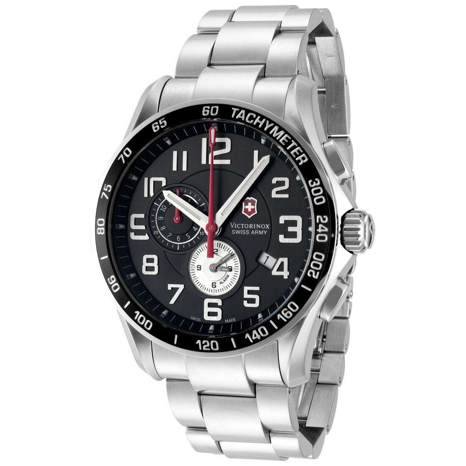 865cbf99108 Relógio Novo Victorinox Swiss Army Men s Classic Xls Alarm Chronograph Watch  - 241280