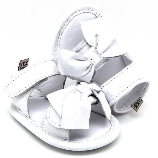 6e99f511468b4 Sandália Branca Joaquina - Mac Bebê - Nina   Pitu - Baby Store