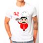 Transfer sublimático para camiseta Cozinheiro 002979