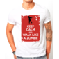 Transfer sublimático para camiseta Keep Calm 002959
