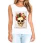 Transfer sublimático para camiseta feminina Frida Kahlo 003070