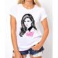 Transfer sublimático para camiseta Lana Del Rey 000258