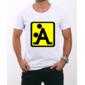 Transfer sublimático para camiseta Engraçada 000471