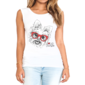 Transfer sublimático para camiseta Feminina 002739