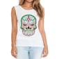 Transfer sublimático para camiseta Caveira Mexicana 002047