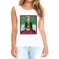 Transfer sublimático para camiseta feminina Frida Kahlo 003064