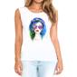 Transfer sublimático para camiseta Feminina 004112