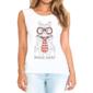 Transfer sublimático para camiseta Feminina 002512