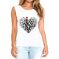 Transfer sublimático para camiseta Feminina 002215