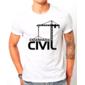 Transfer sublimático para camiseta Engenharia Civil 002994