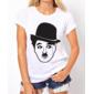Transfer sublimático para camiseta Charlie Chaplin 001277