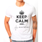 Transfer sublimático para camiseta Keep Calm 002963