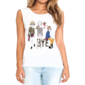 Transfer sublimático para camiseta Feminina 002333