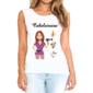 Transfer sublimático para camiseta Cabeleireira 004733