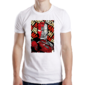 Transfer sublimático para camiseta Heróis/Vilões 004691