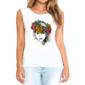 Transfer sublimático para camiseta Feminina 004144