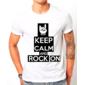 Transfer sublimático para camiseta Keep Calm 002923