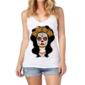 Transfer sublimático para camiseta Caveira Mexicana 000106