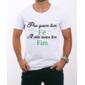 Transfer sublimático para camiseta Frases 000817