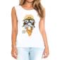 Transfer sublimático para camiseta Feminina 002862